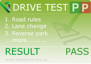 Vic roads licence test lessons in progress