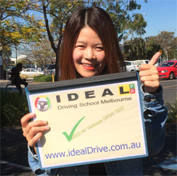 Successfull Licence test at Carlton VicRoads