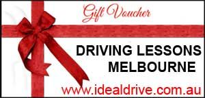 Gift vouchers for sale for driving lessons melbourne
